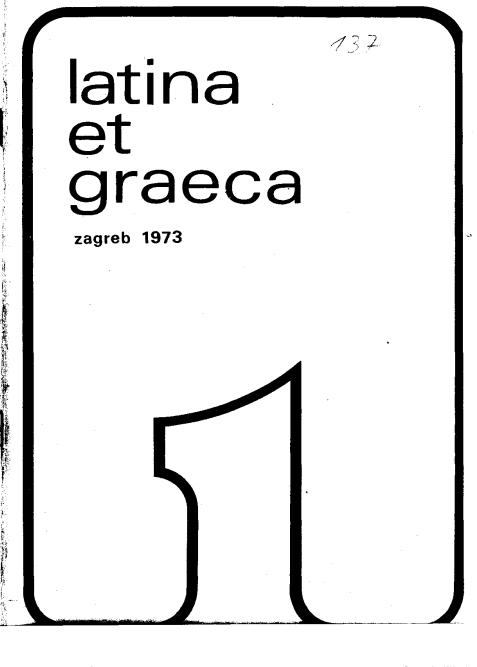 Latina et Graeca 1973