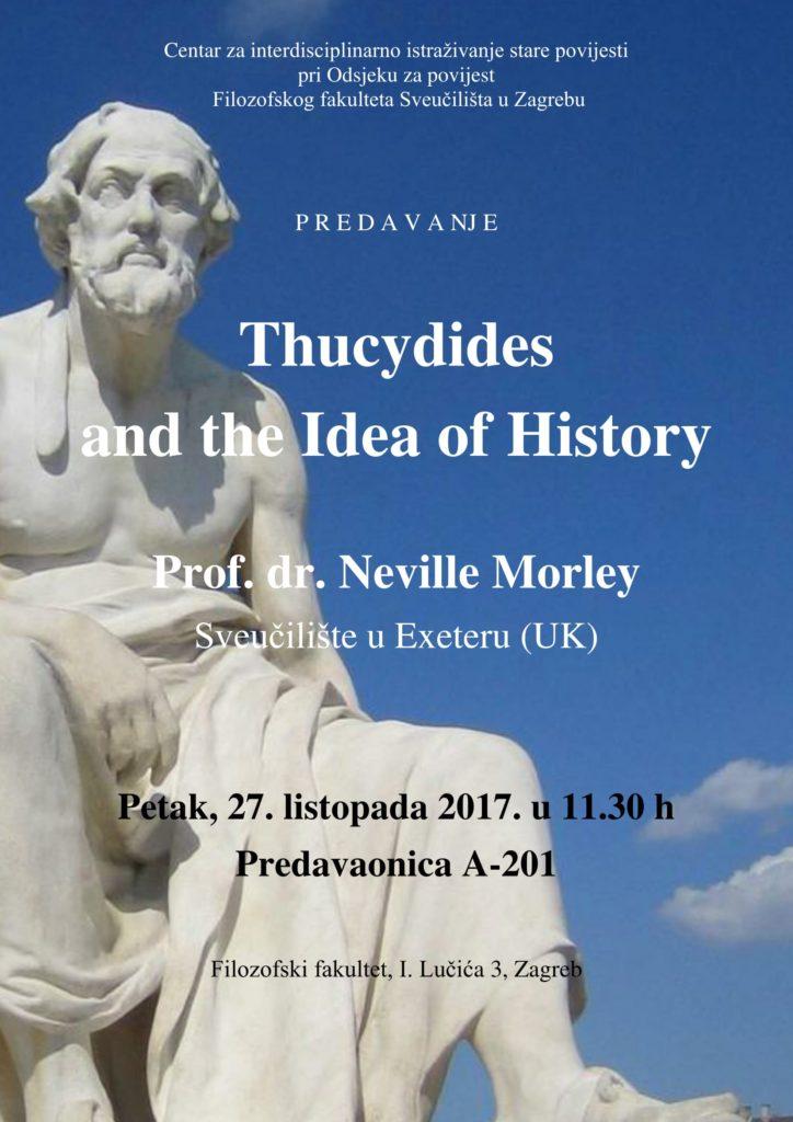 CISP – Tukidid i ideja povijesti – poziv na predavanje (PRESS)